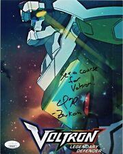 "Neil Kaplan Authentic Hand-Signed ""Voltron Legendary Defender""8x10 Photo Jsa Coa"