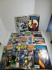 New listing Wolverine comics lot