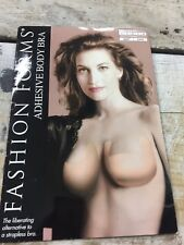 Fashion Forms Adhesive Body Bra ~ The alternative to a strapless bra!Cup C Nude