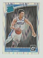 2018-19 Panini Donruss Optic SHOCK PRIZM #158 LANDRY SHAMET RC Rookie Clippers