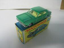 Matchbox Lesney Superfast SF53 Ford Zodiac- LIGHT GREEN, boxed