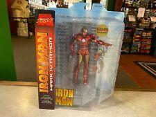 2010 Diamond Marvel Select IRON MAN MARK VI ARMOR Borders EX Version Figure MOC