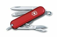 🌟🌟🌟 0.6225 VICTORINOX SWISS ARMY POCKET KNIFE CLASSIC SIGNATURE RED 54091