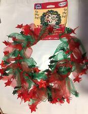 "VOTOYS HOLIDAY XMAS CHRISTMAS SCRUFFIE NUBBIE STOCKING 14/"" DOG TOY FREESHIP USA"