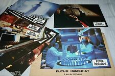 FUTUR IMMEDIAT los angeles 1991 !  jeu photos cinema lobby cards science fiction