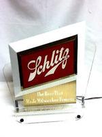Schlitz lighted cash register topper beer sign bar signs 1 vintage Brewery light