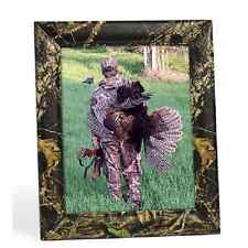 Mossy Oak Camo Leather Picture Frame, Realtree Camouflage Photo