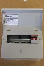 7 WAY ABB METALLO MODIFICA 3 Unità di Consumo C/W DP 100 A isolante E202 Inc 6 MCB'S