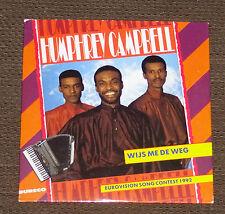 Eurovision 1992 The Netherlands Humphrey Campbell Wijs me de weg CD single