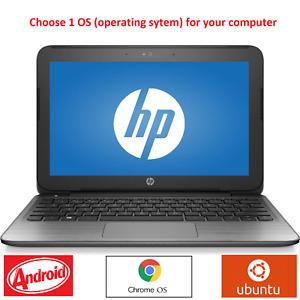 "HP Stream 11 Pro G2 11.6"" 1.60GHz Ubuntu/Android/ChromeOS, LibreOffice+Office*"