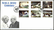 Jersey 1984 RNLI Jersey Centenary FDC First Day Cover #C42307