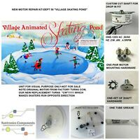 DEPARTMENT 56, Village Animated Skating Pond- 110V AC REPLACEMENT MOTOR- PARTS