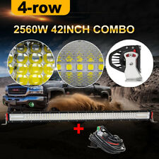 12D PHILIPS 42inch 2560W LED Work Light Bar Flood Spot Combo Driving Truck 40 44