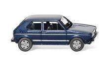 Wiking 004502 VW Golf I GTI - Heliosblau Métallique 1 87 (h0)