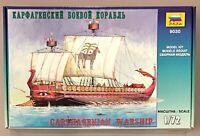 Zvezda 9030 Carthagenian Warship Kriegsschiff Galeere 51cm Modellbau 1/72 (V-111