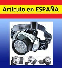 FRONTAL luz 21 LED running correr camping deporte cabeza soporte linterna pesca