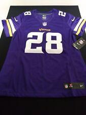 Nike Minnesota Vikings Adrian Peterson Sewn NFL Womens Jersey Sz M 4f09cb960