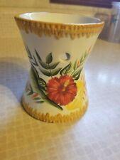 Yankee Candle Floral Ceramic Tart Warmer: White w/ Wildflowers