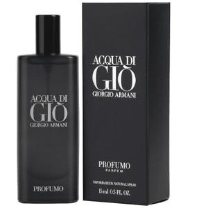 Giorgio Armani Aqua Di Gio Profumo Eau De Parfum Men .5 Oz 15 Ml - New Sealed