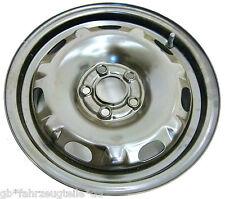 ORIGINALE cerchio in acciaio VW Polo Fox IBIZA FABIA kba-43928 et37 6jx14h2 5x100
