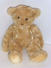 "Tender Teddy Golden Bear 11""H. Cuddly Plush By Douglas, New, With Tags"
