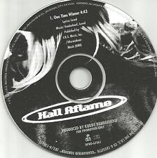Kurt of Metal Church HALL AFLAME One time Winner PROMO DJ CD Single 1991 USA