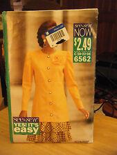 Butterick 5906 Misses Tunic & Skirt Pattern - Size 20/22/24