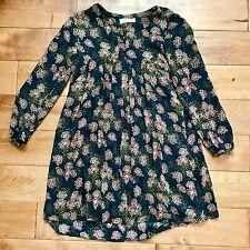 Zara Girls' Long Sleeved Floral Dress 11/12
