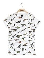 Batch1 DINOSAUR All Over Print Unisex T-Shirt—Fun Jurassic Fashion, Animal Print
