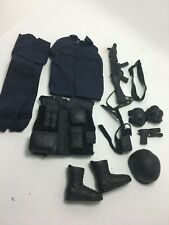 1/6  SCALE- SWAT OUTFIT AND ACCESSORY SET,....REALLY NICE,,,LOOK