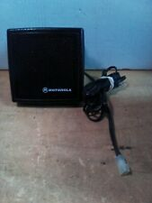 Motorola #HSN4031A Speaker W/ Mounting Bracket Tested/Works Excellent Condition