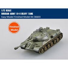Easy Model 1/72 Scale Russian Army IS-3 Heavy Tank Finished Model 36603(as WOT)
