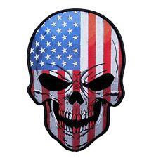 Патриотический американский флаг череп байкер патч бесплатная доставка