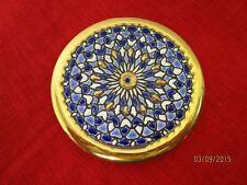 schöner kleiner Porzellan Deko Teller - orientalisches Decor - gemarkt   /S46