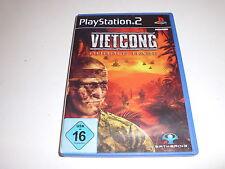 PlayStation 2 ps2 Vietcong-Purple Haze