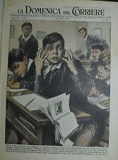 """"""" LA DOMENICA DEL CORRIERE N°25/ 20.GIU.1954 - ANNO 56 """""""