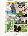 1986 Captain America 324 page 15 Marvel Comics original color guide art: 1980's