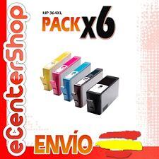 6 Cartuchos de Tinta NON-OEM HP 364XL - Photosmart C5300 Series