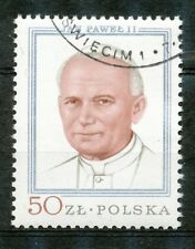 Polen 2632 gestempeld (1) paus Johannes Paulus II