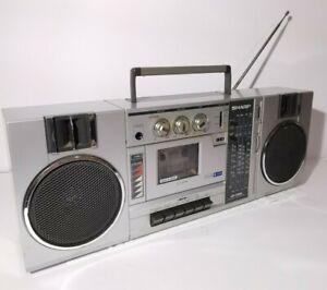 Sharp GF-7300 Stereo Radio Cassette Recorder Spares/Repair/Film Prop/PhotoShoot