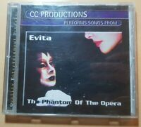 CC Productions Performs Songs From The Phantom Of The Opera Music CD (1996)