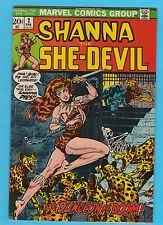 Shanna the She-Devil #2 Marvel Comics 1972 Steranko Cover VFNM