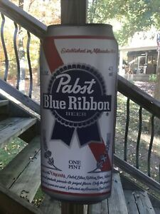Pabst Pounder Can Sign