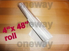"48""x 4"" ROLL- 50 Micron Mesh Essential Oil Filter Screen 316T 710 SS STEEL"