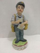 Duncan Royale Mailman Postal Worker Fine Porcelain Usps