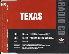 TEXAS - Black eyed boy RADIO CD PROMO Single 1997 (MERCURY) UK