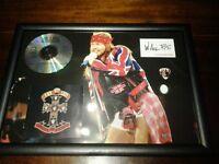 Guns N' Roses Framed Appetite For Destruction CD Album With Facsimile Autograph