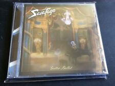 SAVATAGE. GUTTER BALLET CD ALBUM NEW AND SEALED F1