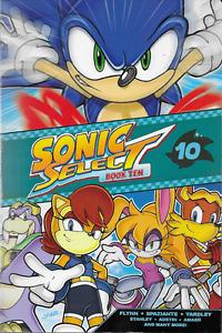 Sonic the Hedgehog Sonic Select Book 10 Comic Book 2015, TPB Archie Sega OOP