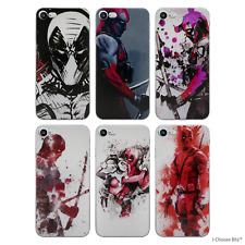 """Deadpool Fan Art Case/Cover Apple iPhone 6/6s (4.7"""") / Screen Protector / Gel"""